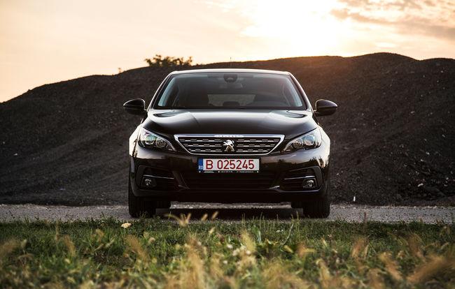 Test drive Peugeot 308 facelift
