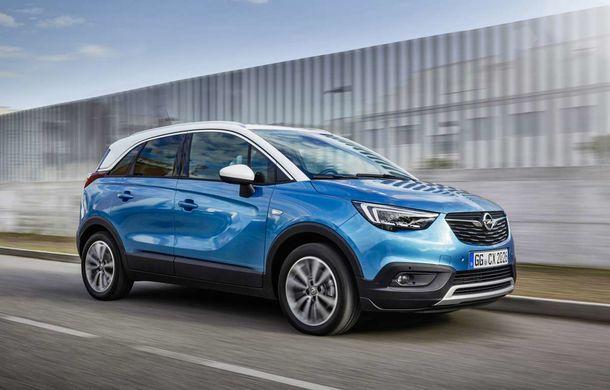 Opel Crossland X: acum și în versiunea cu GPL - Poza 1