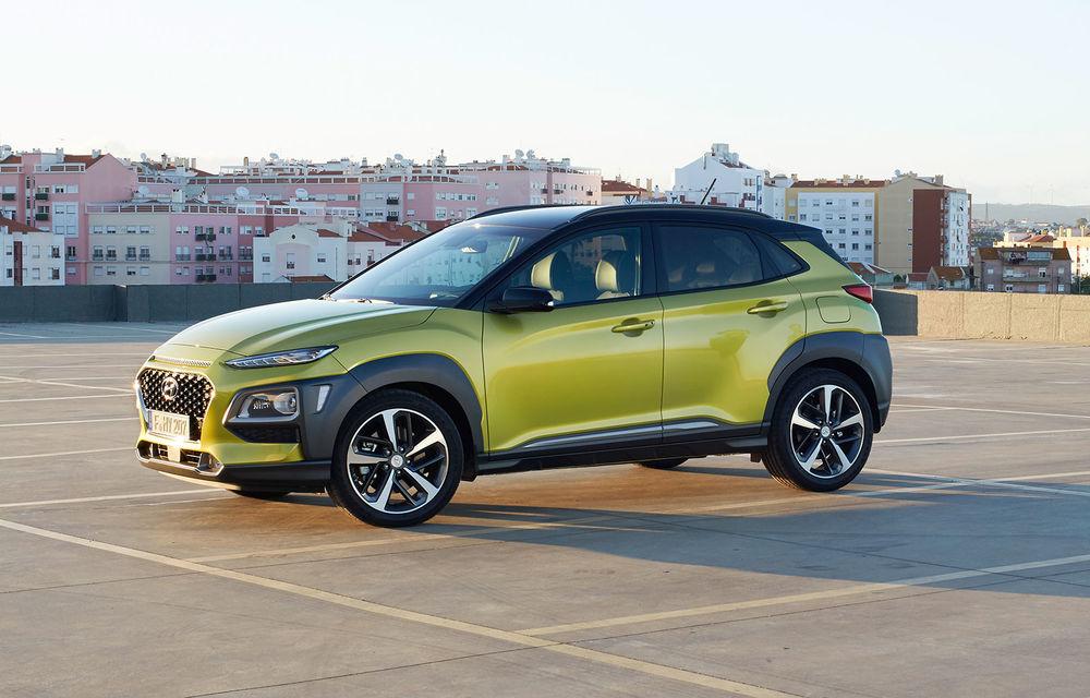 Versiunea electrică a lui Hyundai Kona va fi disponibilă în două versiuni: varianta de top va avea autonomie de 400 de kilometri - Poza 1