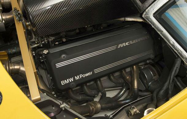 Oportunitate unică: Un McLaren F1 din 1997 cu doar 200 de kilometri la bord a fost scos la vânzare - Poza 6