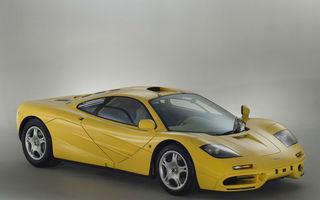Oportunitate unică: Un McLaren F1 din 1997 cu doar 200 de kilometri la bord a fost scos la vânzare
