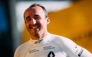 Kubica a efectuat un nou test pentru Williams: britanicii continuă evaluările pentru noul coechipier al lui Stroll