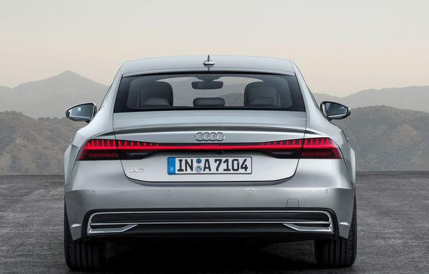 Audi A7 Sportback ajunge la a doua generație: exterior conservator, butoanele fizice de la interior dispar, iar tehnologia e la ea acasă - Poza 25