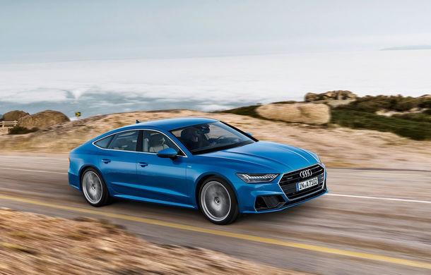 Audi A7 Sportback ajunge la a doua generație: exterior conservator, butoanele fizice de la interior dispar, iar tehnologia e la ea acasă - Poza 16