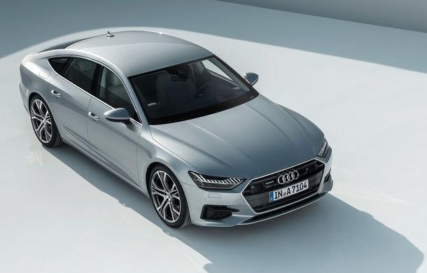 Audi A7 Sportback ajunge la a doua generație: exterior conservator, butoanele fizice de la interior dispar, iar tehnologia e la ea acasă - Poza 10
