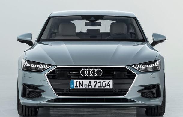 Audi A7 Sportback ajunge la a doua generație: exterior conservator, butoanele fizice de la interior dispar, iar tehnologia e la ea acasă - Poza 21