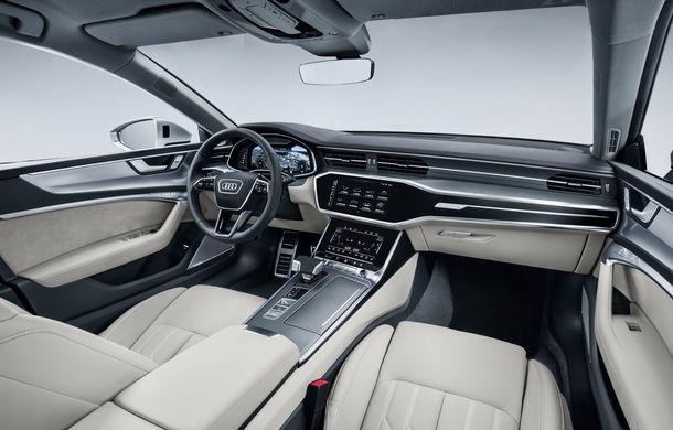 Audi A7 Sportback ajunge la a doua generație: exterior conservator, butoanele fizice de la interior dispar, iar tehnologia e la ea acasă - Poza 26