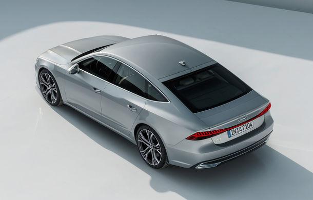 Audi A7 Sportback ajunge la a doua generație: exterior conservator, butoanele fizice de la interior dispar, iar tehnologia e la ea acasă - Poza 9