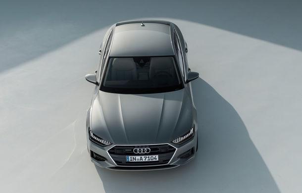 Audi A7 Sportback ajunge la a doua generație: exterior conservator, butoanele fizice de la interior dispar, iar tehnologia e la ea acasă - Poza 23