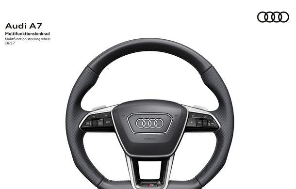 Audi A7 Sportback ajunge la a doua generație: exterior conservator, butoanele fizice de la interior dispar, iar tehnologia e la ea acasă - Poza 29