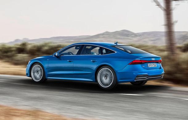 Audi A7 Sportback ajunge la a doua generație: exterior conservator, butoanele fizice de la interior dispar, iar tehnologia e la ea acasă - Poza 20