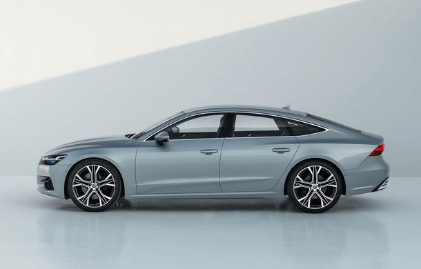 Audi A7 Sportback ajunge la a doua generație: exterior conservator, butoanele fizice de la interior dispar, iar tehnologia e la ea acasă - Poza 7