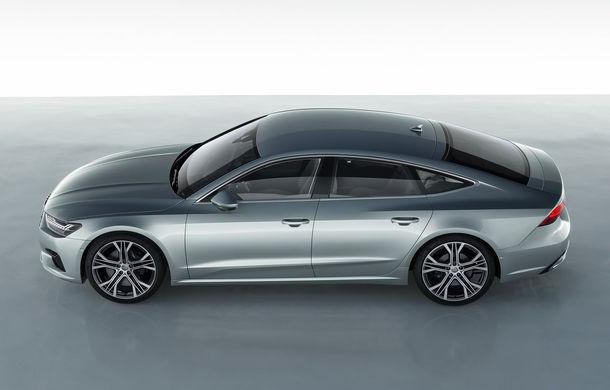 Audi A7 Sportback ajunge la a doua generație: exterior conservator, butoanele fizice de la interior dispar, iar tehnologia e la ea acasă - Poza 8