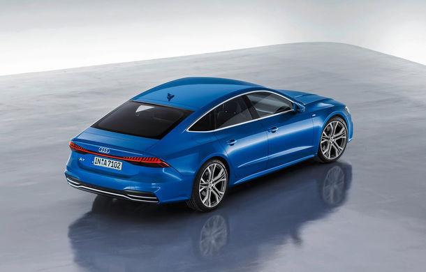 Audi A7 Sportback ajunge la a doua generație: exterior conservator, butoanele fizice de la interior dispar, iar tehnologia e la ea acasă - Poza 19