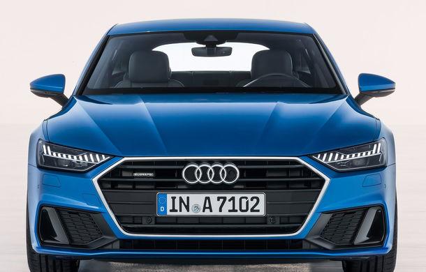 Audi A7 Sportback ajunge la a doua generație: exterior conservator, butoanele fizice de la interior dispar, iar tehnologia e la ea acasă - Poza 22