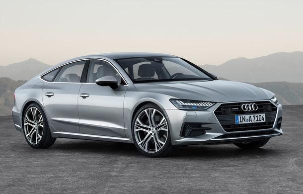 Audi A7 Sportback ajunge la a doua generație: exterior conservator, butoanele fizice de la interior dispar, iar tehnologia e la ea acasă - Poza 1