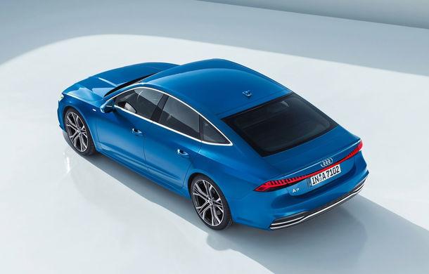 Audi A7 Sportback ajunge la a doua generație: exterior conservator, butoanele fizice de la interior dispar, iar tehnologia e la ea acasă - Poza 14