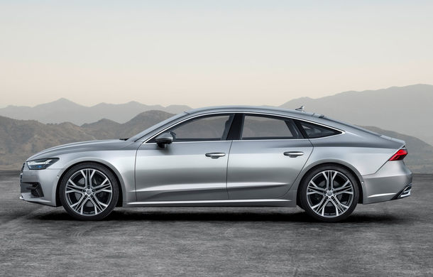 Audi A7 Sportback ajunge la a doua generație: exterior conservator, butoanele fizice de la interior dispar, iar tehnologia e la ea acasă - Poza 6