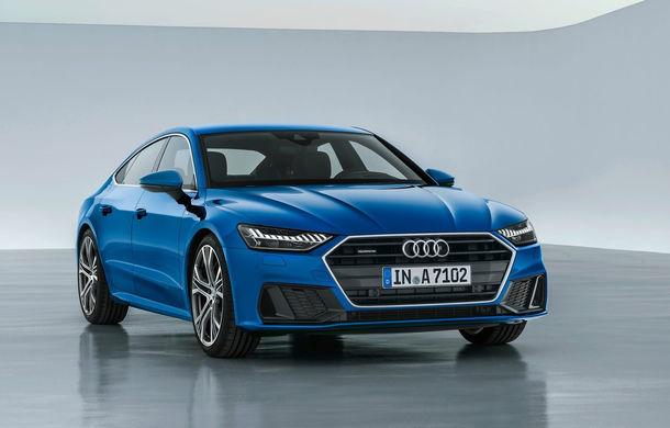 Audi A7 Sportback ajunge la a doua generație: exterior conservator, butoanele fizice de la interior dispar, iar tehnologia e la ea acasă - Poza 15