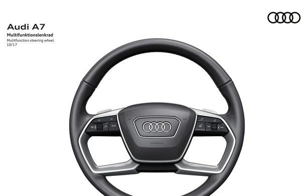 Audi A7 Sportback ajunge la a doua generație: exterior conservator, butoanele fizice de la interior dispar, iar tehnologia e la ea acasă - Poza 30