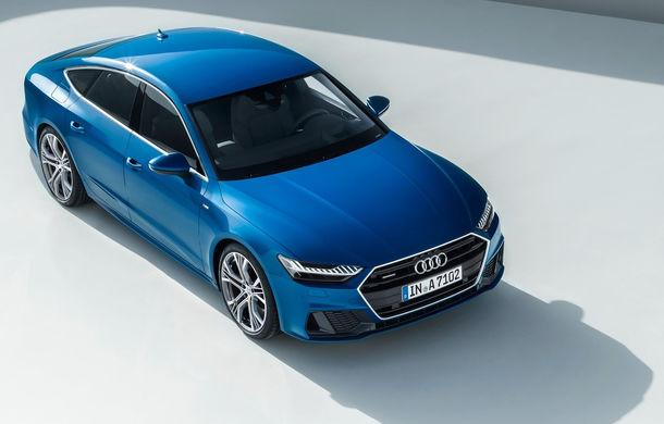 Audi A7 Sportback ajunge la a doua generație: exterior conservator, butoanele fizice de la interior dispar, iar tehnologia e la ea acasă - Poza 11