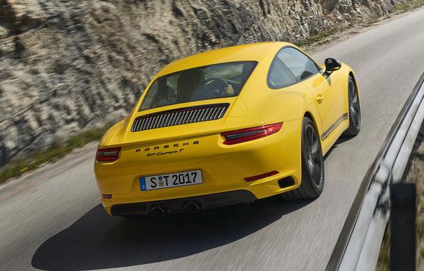 Porsche 911 Carrera T: versiune mai ușoară și mai performantă decât 911 Carrera - Poza 8