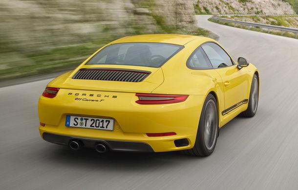 Porsche 911 Carrera T: versiune mai ușoară și mai performantă decât 911 Carrera - Poza 5