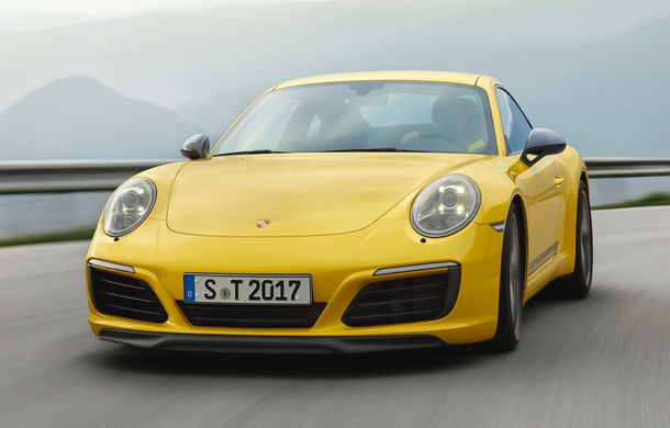 Porsche 911 Carrera T: versiune mai ușoară și mai performantă decât 911 Carrera - Poza 2