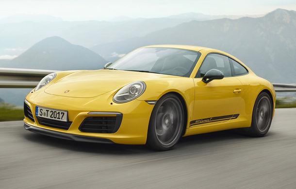 Porsche 911 Carrera T: versiune mai ușoară și mai performantă decât 911 Carrera - Poza 1