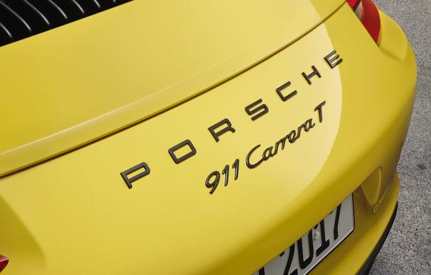 Porsche 911 Carrera T: versiune mai ușoară și mai performantă decât 911 Carrera - Poza 9