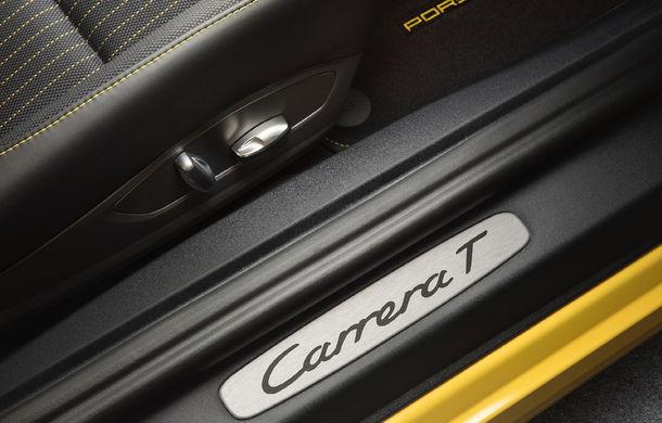 Porsche 911 Carrera T: versiune mai ușoară și mai performantă decât 911 Carrera - Poza 13