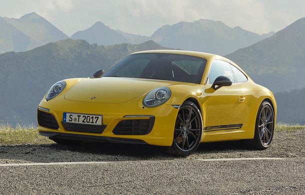 Porsche 911 Carrera T: versiune mai ușoară și mai performantă decât 911 Carrera - Poza 3