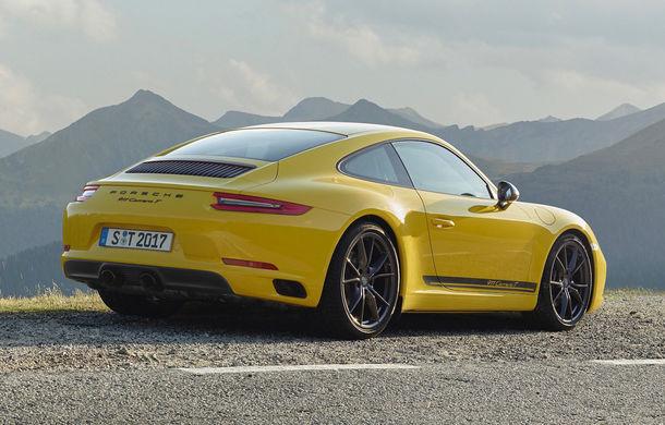 Porsche 911 Carrera T: versiune mai ușoară și mai performantă decât 911 Carrera - Poza 4