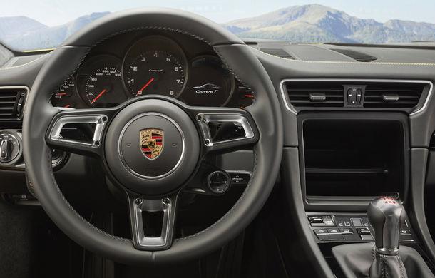 Porsche 911 Carrera T: versiune mai ușoară și mai performantă decât 911 Carrera - Poza 10