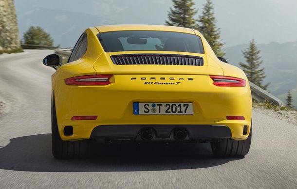 Porsche 911 Carrera T: versiune mai ușoară și mai performantă decât 911 Carrera - Poza 6
