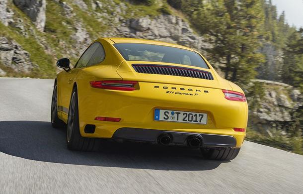 Porsche 911 Carrera T: versiune mai ușoară și mai performantă decât 911 Carrera - Poza 7