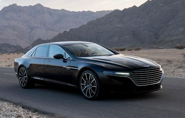 Duel cu Bentley și Rolls-Royce: Aston Martin vrea să lanseze două modele noi pentru brandul Lagonda - Poza 1