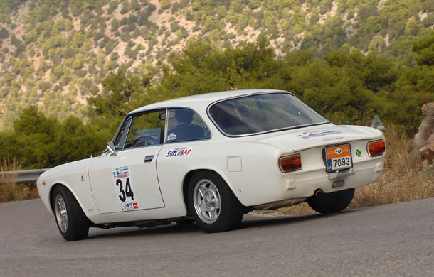 """Noi și Geta în """"24 Hours Rally of Greece"""": am concurat într-un Le Mans al mașinilor clasice - Poza 15"""