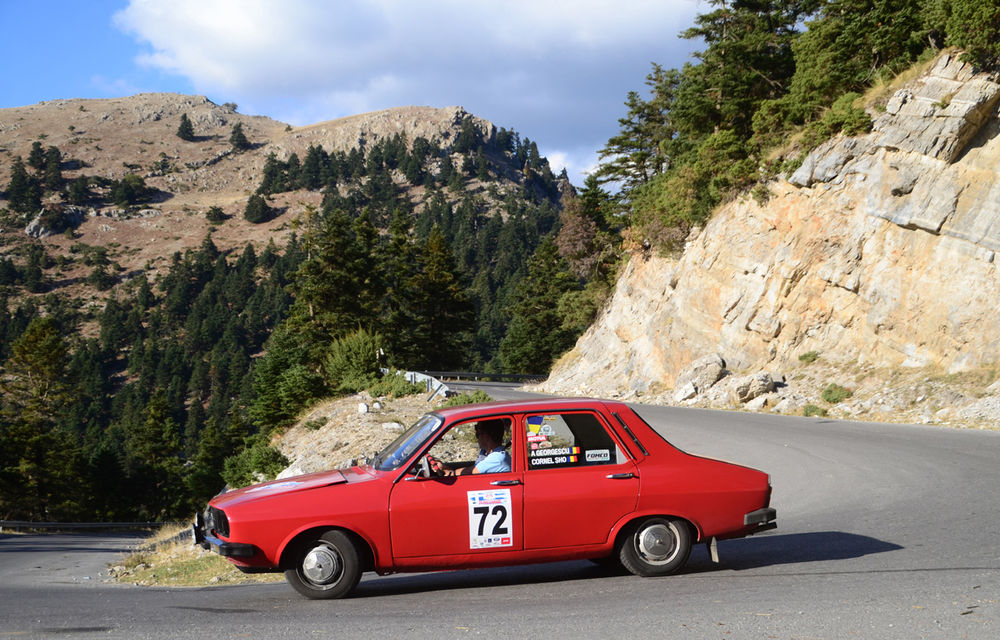 """Noi și Geta în """"24 Hours Rally of Greece"""": am concurat într-un Le Mans al mașinilor clasice - Poza 4"""