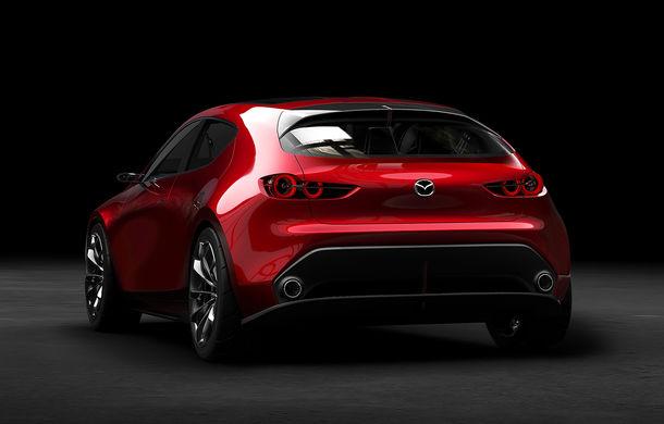 Mazda Kai Concept anunță viitoarea generație Mazda 3: design evoluat și motor pe benzină Skyactiv-X cu aprindere prin compresie - Poza 3