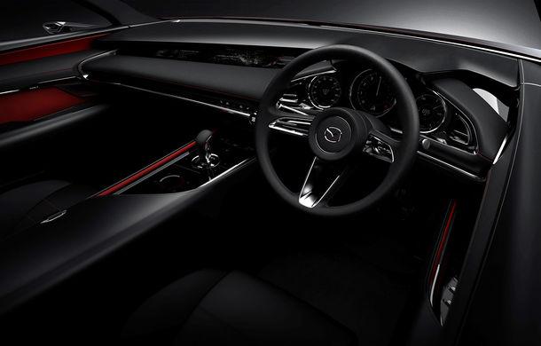 Mazda Kai Concept anunță viitoarea generație Mazda 3: design evoluat și motor pe benzină Skyactiv-X cu aprindere prin compresie - Poza 9