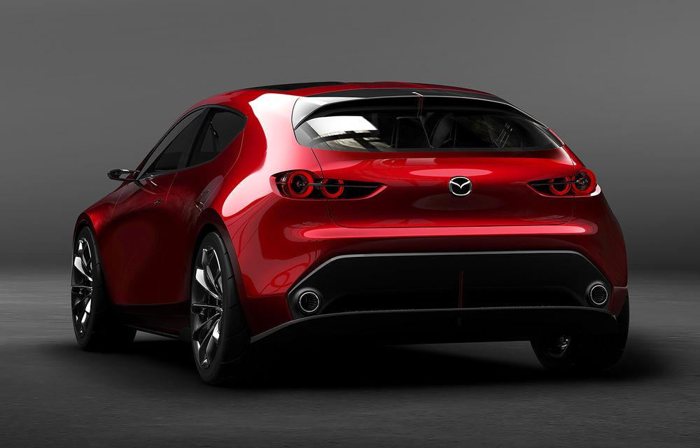 Mazda Kai Concept anunță viitoarea generație Mazda 3: design evoluat și motor pe benzină Skyactiv-X cu aprindere prin compresie - Poza 8