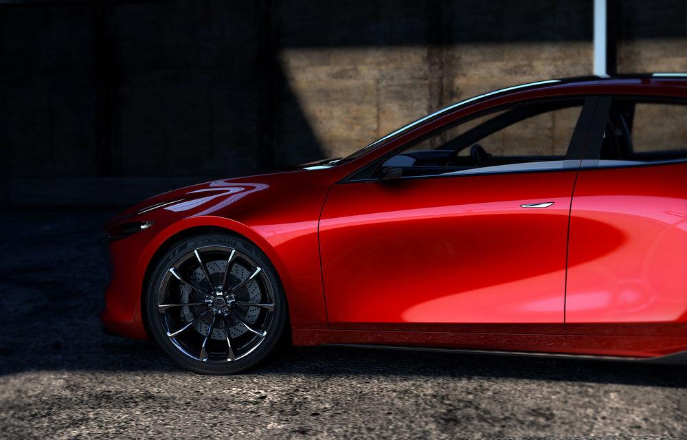 Mazda Kai Concept anunță viitoarea generație Mazda 3: design evoluat și motor pe benzină Skyactiv-X cu aprindere prin compresie - Poza 6