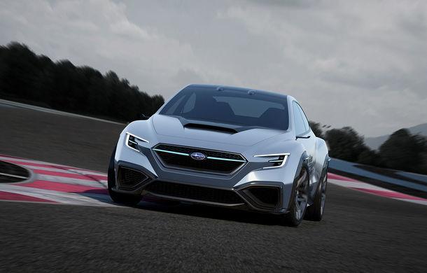 Subaru Viziv Performance: conceptul care anunță viitoarea generație WRX a debutat în Tokyo - Poza 1