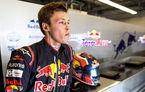 "Kvyat, concediat de Toro Rosso: ""Gasly și Hartley vor încheia sezonul"""
