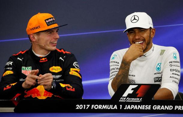 """Hamilton vede în Verstappen un rival la titlu pentru 2018: """"Max așteaptă să-mi ia locul"""" - Poza 1"""