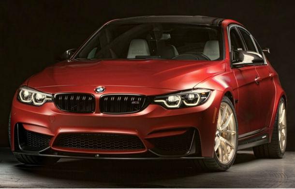 BMW M3 American Edition: bavarezii au anunțat o ediție specială M3 la 30 de ani de prezență pe piața americană - Poza 1