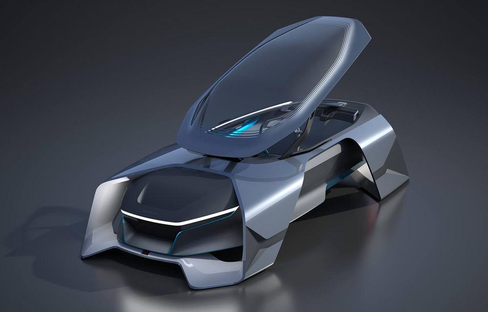 Dacia EF-Vision 2050: un concept Dacia pentru un viitor ultra-tehnologizat, dar fidel caracterului accesibil - Poza 2