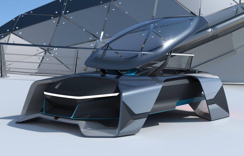 Dacia EF-Vision 2050: un concept Dacia pentru un viitor ultra-tehnologizat, dar fidel caracterului accesibil - Poza 3