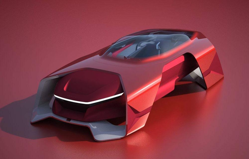Dacia EF-Vision 2050: un concept Dacia pentru un viitor ultra-tehnologizat, dar fidel caracterului accesibil - Poza 1